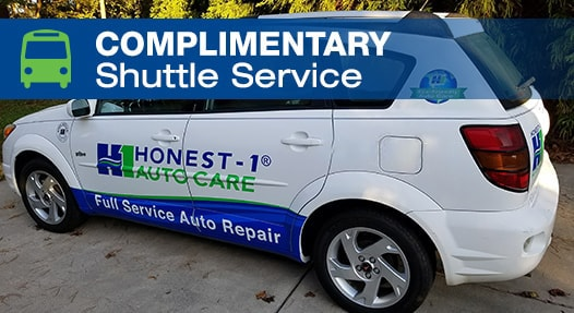 Complimentary Local Shuttle Service | Honest-1 Auto Care Copperfield